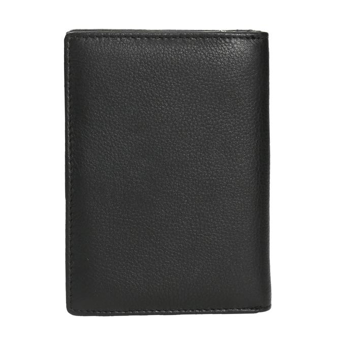 Kožená dámská peněženka bata, černá, 944-6163 - 19