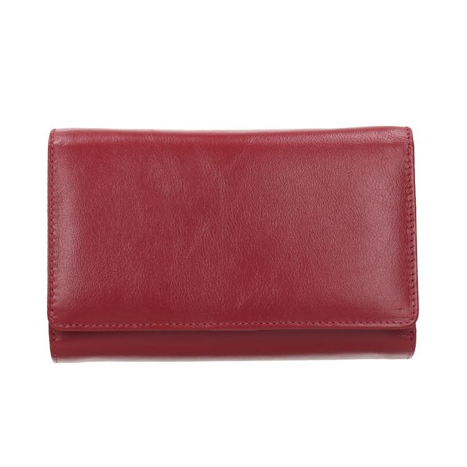 Kožená dámská peněženka bata, červená, 944-5168 - 26