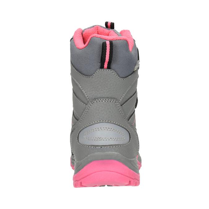 Dětská zimní obuv mini-b, šedá, 391-2100 - 17