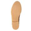 Kožená kotníčková obuv se zateplením bata, hnědá, 596-3610 - 26