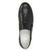 Pánské kožené Slip-on bata, černá, 844-6630 - 19