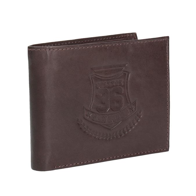 Pánská kožená peněženka bata, hnědá, 944-4171 - 13