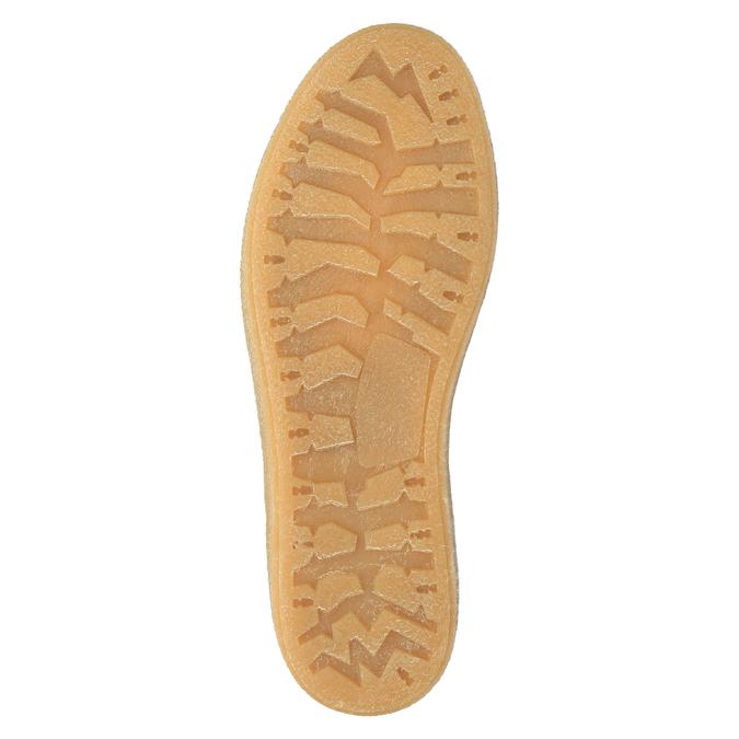 Kožená zimní obuv s kožíškem weinbrenner, hnědá, 596-8628 - 26