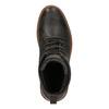 Pánská kožená zimní obuv bata, hnědá, 894-4659 - 19