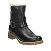 Dámská obuv s kožíškem bata, černá, 594-6609 - 13