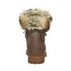 Dámská zimní obuv s kožíškem bata, hnědá, 591-3605 - 17