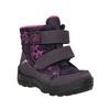 Dětská zimní obuv na suché zipy richter, fialová, 299-9008 - 13