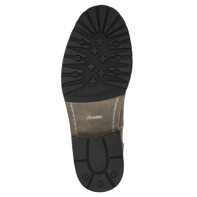 Kožená pánská obuv bata, hnědá, 894-3650 - 26