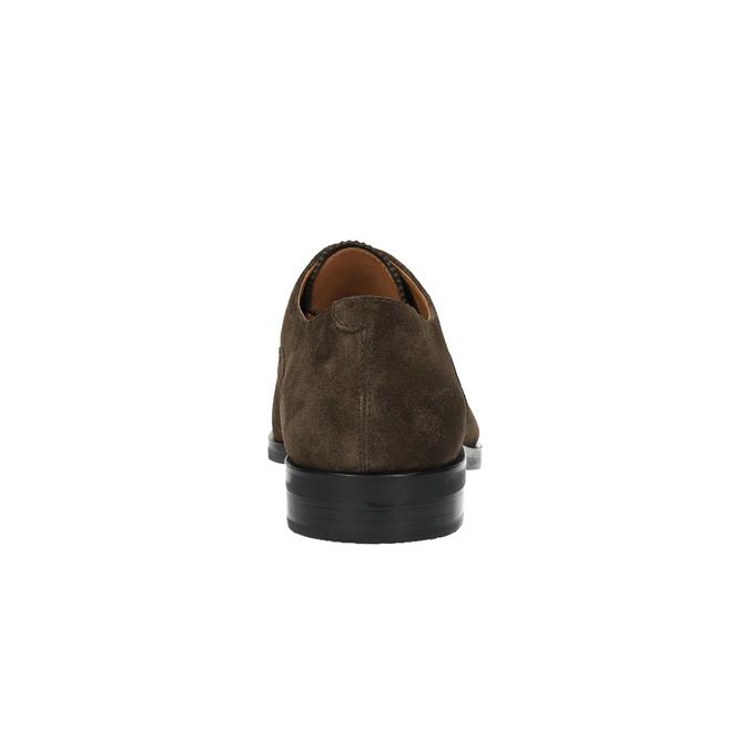 Kožené polobotky v Oxford stylu vagabond, hnědá, 823-4036 - 17