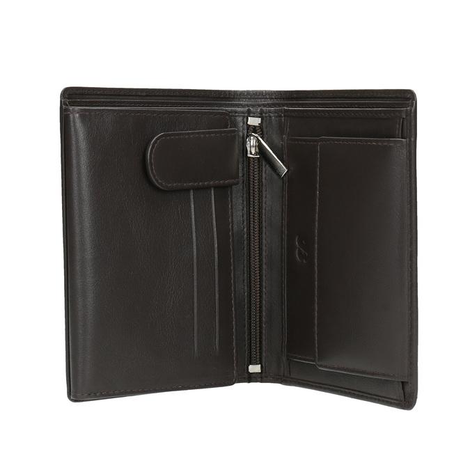Pánská kožená peněženka bata, hnědá, 944-4169 - 15