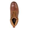 Kožená kotníčková obuv pánská bata, hnědá, 896-3652 - 19