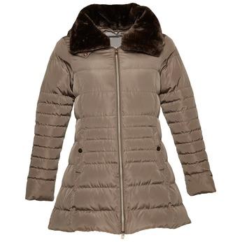 Delší zimní bunda bata, hnědá, 979-8649 - 13