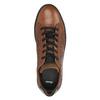 Kožené pánské tenisky s hadím vzorem bata, hnědá, 846-3616 - 19