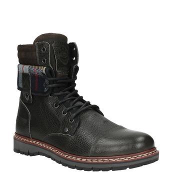 Pánská zimní obuv kotníčková bata, šedá, 896-2650 - 13