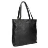 Černá kožená kabelka bata, černá, 964-6213 - 13