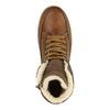 Kožená dětská obuv bull-boxer, hnědá, 494-3003 - 19