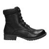 Dětská obuv s kožíškem bull-boxer, černá, 491-6008 - 15