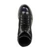 Kožená šněrovací obuv na výrazné podešvi weinbrenner, černá, 596-9635 - 19