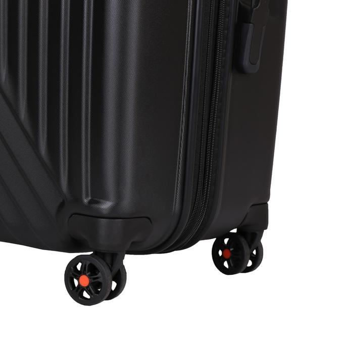 Černý skořepinový kufr na kolečkách american-tourister, černá, 960-6111 - 19