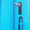 Skořepinový kufr na kolečkách american-tourister, tyrkysová, 960-9111 - 17