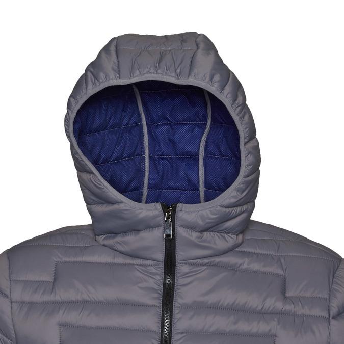Pánská bunda s kapucí bata, šedá, 979-2627 - 16