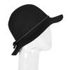 Dámský klobouk s prošitím bata, černá, 909-6294 - 13