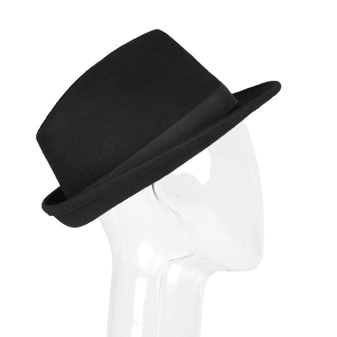 Černý klobouk bata, černá, 909-6263 - 13