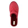 Domácí dámská obuv bata, červená, 579-5611 - 19