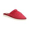 Domácí dámská obuv bata, červená, 579-5611 - 13