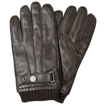 Pánské kožené rukavice bata, hnědá, 904-4127 - 13