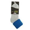 Dámské Termo ponožky matex, šedá, modrá, 919-9381 - 13