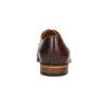 Kožené pánské polobotky Oxford conhpol, hnědá, 826-3847 - 17