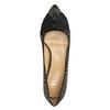 Lodičky s mašlí bata, zlatá, černá, 629-8630 - 19