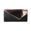 Dámské psaníčko s asymetrickou klopou bata, růžová, 961-5673 - 26