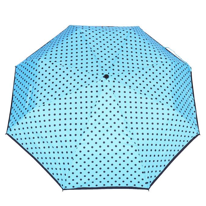 Modrý deštník s puntíky bata, modrá, 909-9601 - 26