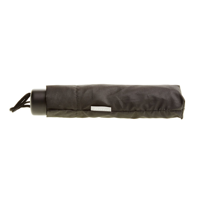 Černý skládací deštník bata, černá, 909-6600 - 16