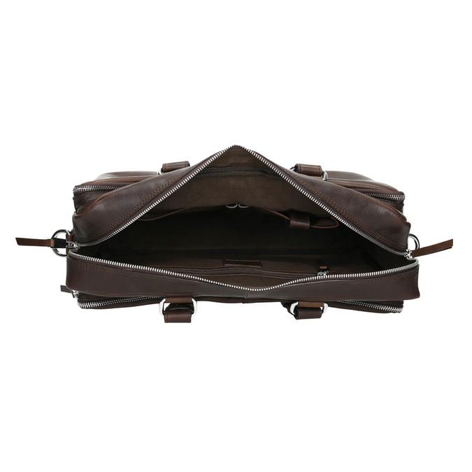Kožená taška bata, hnědá, 964-4106 - 15