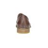 Dámské kožené Loafers bata, hnědá, 2021-516-3603 - 17