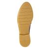 Dámské kožené Loafers bata, hnědá, 2021-516-3603 - 26