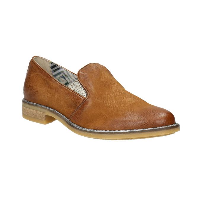Dámské kožené Loafers bata, 2020-516-4603 - 13