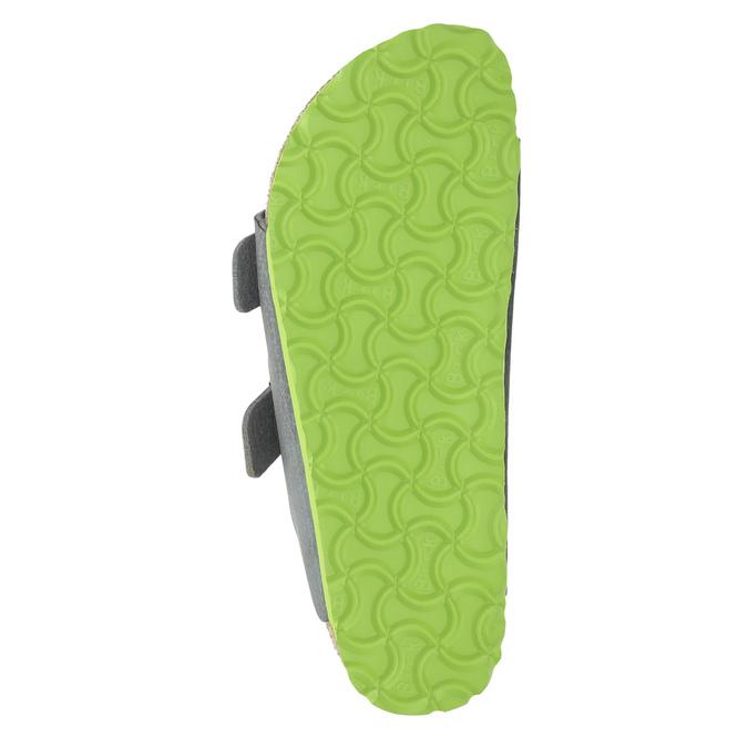 Dětská domácí obuv birkenstock, šedá, 361-2013 - 26