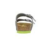 Dětská domácí obuv birkenstock, šedá, 361-2013 - 17