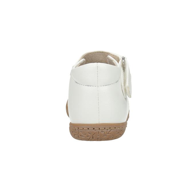 Dívčí kotníčková obuv bubblegummers, bílá, 121-1617 - 17