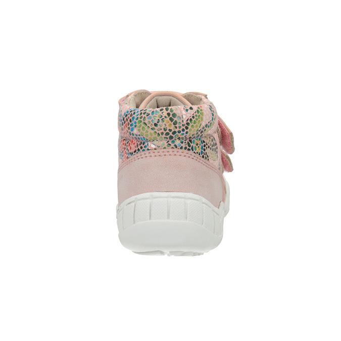 Dívčí kotníčková obuv růžová bubblegummers, růžová, 121-5613 - 17