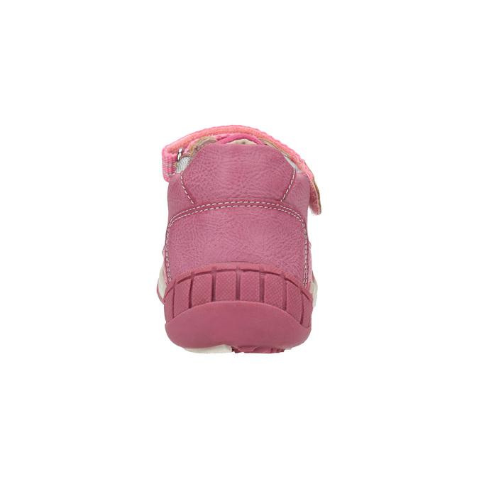 Dětská kotníčková obuv růžová bubblegummers, růžová, 121-5615 - 17
