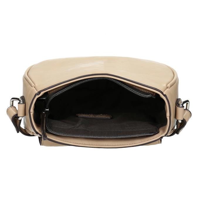 Dámská Crossbody kabelka s klopou bata, béžová, 961-2337 - 15