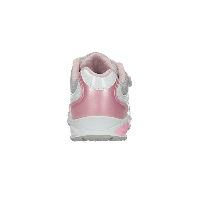 Dětské tenisky na suché zipy mini-b, růžová, 221-5603 - 17