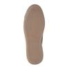 Kožené kotníčkové tenisky se zipem bata, hnědá, 844-3632 - 26