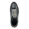 Kožené kotníčkové tenisky pánské bata, modrá, 844-9631 - 19