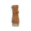 Hnědé kotníčkové kozačky bata, hnědá, 599-4614 - 17